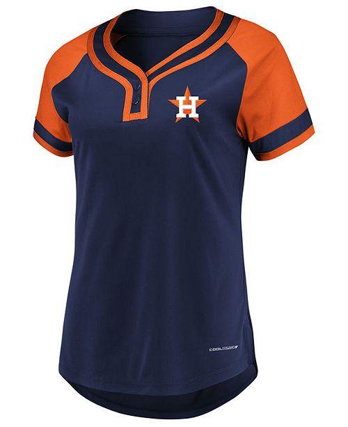 Majestic Women s Houston Astros League Diva T-Shirt  Majestic Women s  Houston Astros League Diva T- ... e5e5d352b