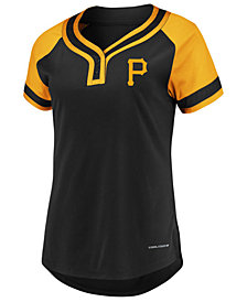 Majestic Women's Pittsburgh Pirates League Diva T-Shirt