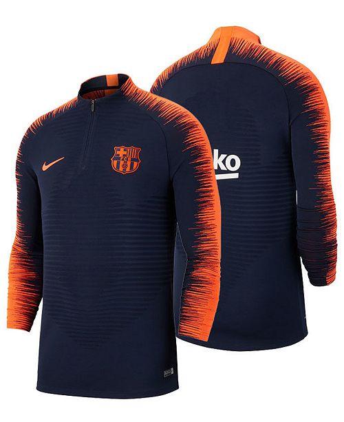 2b8ccb17 Nike Men's FC Barcelona Aeroswift Strike Drill Top; Nike Men's FC Barcelona Aeroswift  Strike Drill ...