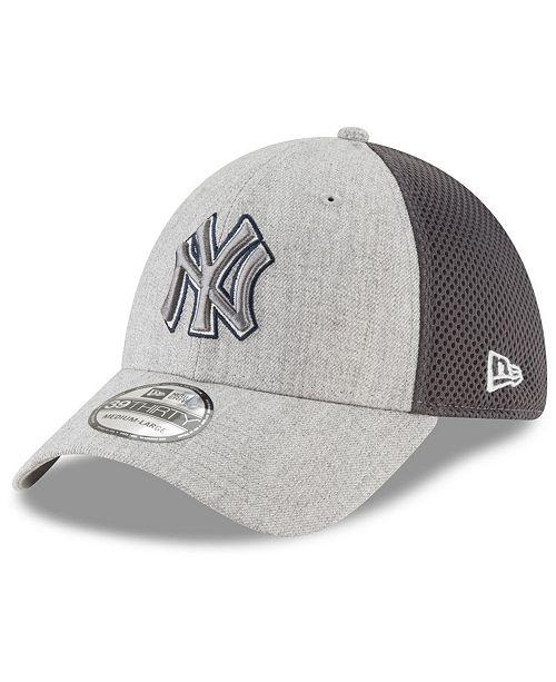12c7aadc5257 New Era New York Yankees Heather Pop Neo 39THIRTY Cap & Reviews ...