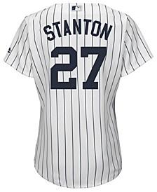 Women's Giancarlo Stanton New York Yankees Cool Base Player Replica Jersey