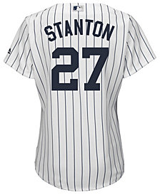 Majestic Women's Giancarlo Stanton New York Yankees Cool Base Player Replica Jersey
