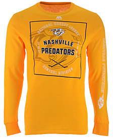 Majestic Men's Nashville Predators Keep Score Long Sleeve T-Shirt