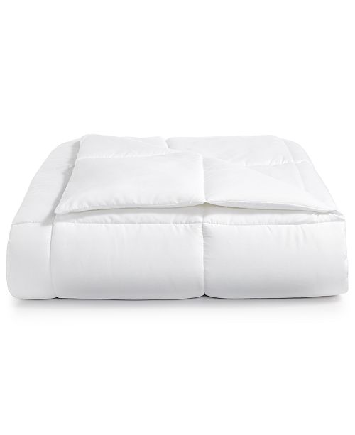 Martha Stewart Collection Reversible Down Alternative Twin Comforter, Created for Macy's