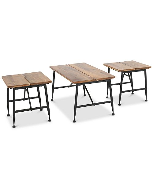 Noble House Karlson 3-Pc. Table Set