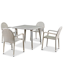 Westfield 5-Pc. Outdoor Dining Set, Quick Ship