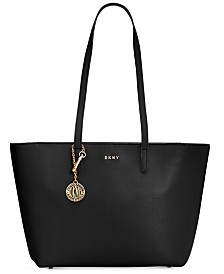 DKNY Sutton Leather Bryant Medium Tote, Created for Macy's