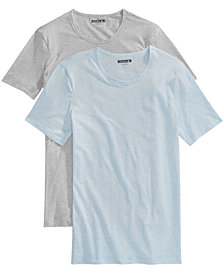 Lacoste Men's 2-Pk. Superfine Stretch Crew-Neck T-Shirts