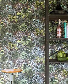 Graham & Brown Succulent Green Wallpaper