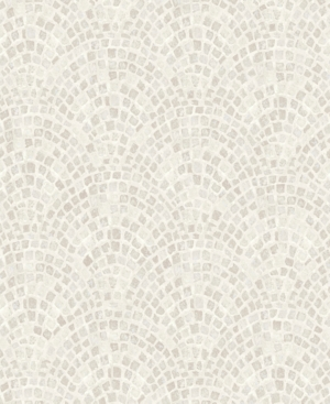 Graham  Brown Trajan Tile Neutral Wallpaper
