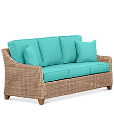 Willough Outdoor Sofa Replacement Sunbrella® Cushion, Quick Ship