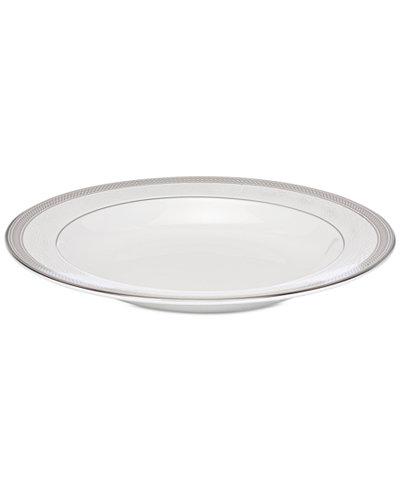 Waterford Olann Platinum Rimmed Soup Bowl