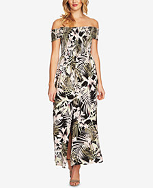 CeCe Off-The-Shoulder Maxi Dress