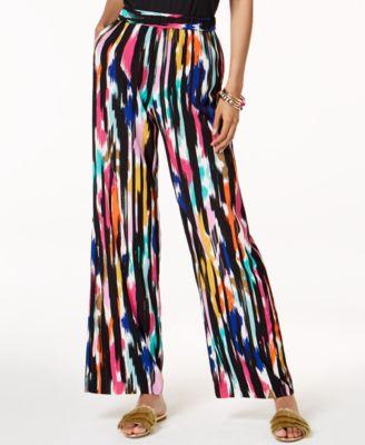 Trina Turk x I.N.C. Ikat Printed Soft Pants, Created for Macy's
