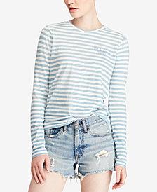 Polo Ralph Lauren Striped Jersey Cotton T-Shirt