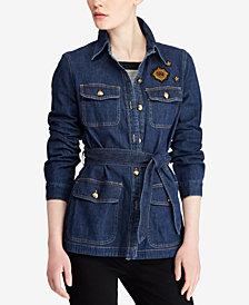 Lauren Ralph Lauren Petite Denim Utility Jacket
