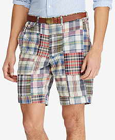 Polo Ralph Lauren Men's Big & Tall Madras Patchwork Shorts