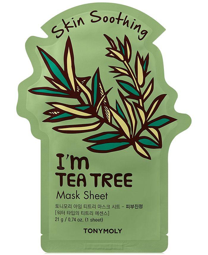 TONYMOLY - I'm Tea Tree Sheet Mask - (Skin Soothing)