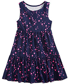 Epic Threads Little Girls Star-Print Super-Soft Dress, Created for Macy's