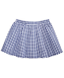 Epic Threads Little Girls Gingham Scooter Skirt, Created for Macy's
