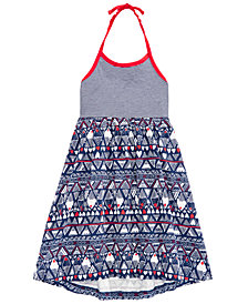 Epic Threads Toddler Girls Printed Halter Dress, Created for Macy's