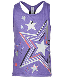 Ideology Little Girls Star-Print Tank, Created for Macy's