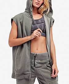 Free People FP Movement Vagabond Hooded Vest