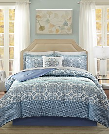 Madison Park Essentials Sybil 7-Pc. Twin Comforter Set