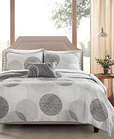 Madison Park Essentials Knowles 8-Pc. Full Coverlet Set