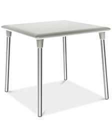 New Flash Outdoor Square Side Table, Quick Ship