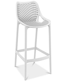 Grid Bar Stool (Set Of 4), Quick Ship