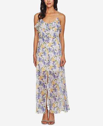 CeCe Floral-Print Maxi Dress