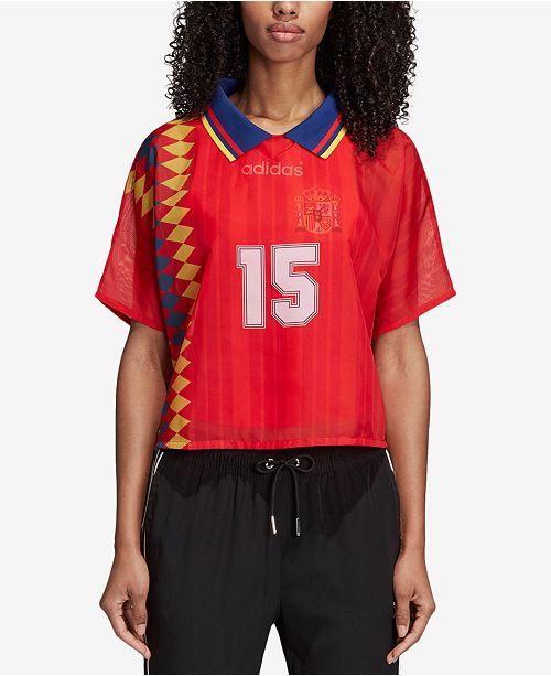 adidas Spain Originals Spain Red T Shirt Layered pHCqxSp4