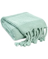 Green Blankets & Throw Blankets - Macy\'s