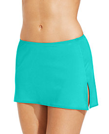Coco Reef Solid Slit Swim Skirt