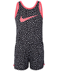 Nike Little Girls Sport Essentials Printed Romper