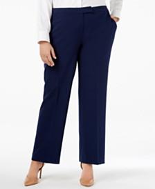 Kasper Plus Size Trouser Pants