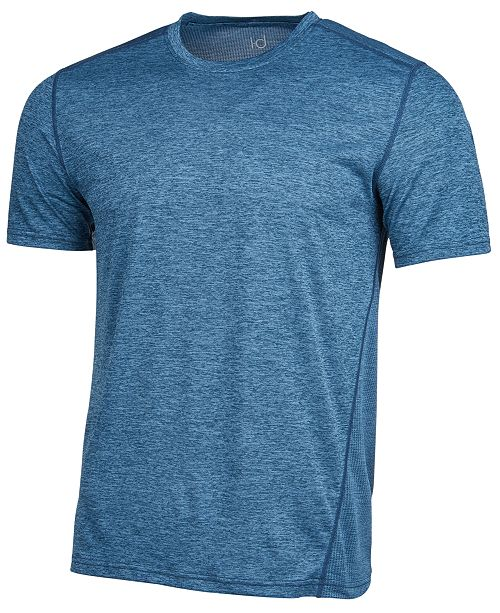 Ideology Men's Core Crew Neck Mesh-Back T-Shirt, Created for Macy's