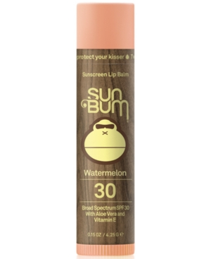 Grab as many as you can while you can. Sun Bum\\\'s smooth Spf 30 Sunscreen Lip Balm with added aloe and vitamin E will protect and moisturize your kisser all day long. Just try not to lick it off.