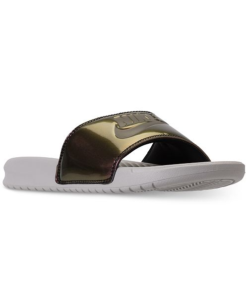 9db960fc15b0 Nike Women s Benassi JDI Print Slide Sandals from Finish Line ...