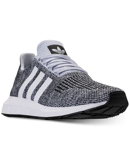 c9949da4a17c adidas Men s Swift Run Casual Sneakers from Finish Line   Reviews ...