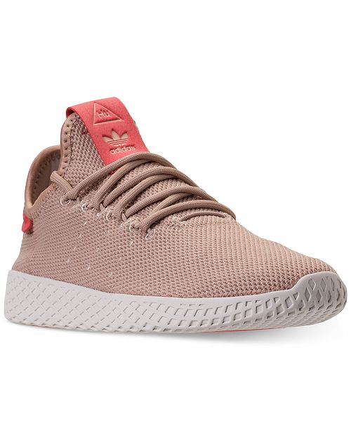 classic fit 19812 f162d ... adidas Womens Originals Pharrell Williams Tennis HU Casual Sneakers  from Finish ...