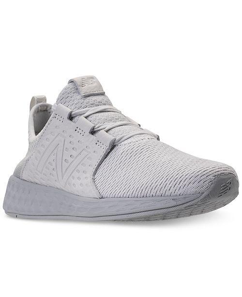 262667b14280d ... New Balance Men's Fresh Foam Cruz Running Sneakers from Finish ...