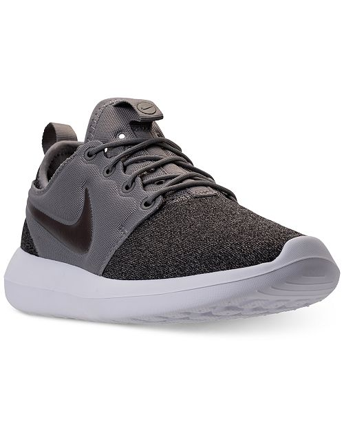 cf0cd2d35528 Nike Women s Roshe Two Knit Casual Sneakers from Finish Line ...