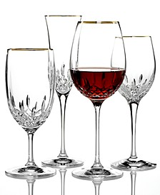 Stemware, Lismore Essence Gold Collection