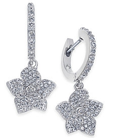 kate spade new york Pavé Rose Drop Earrings