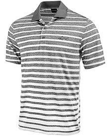 Greg Norman for Tasso Elba Men's Ombré Fade Striped Polo, Created for Macy's