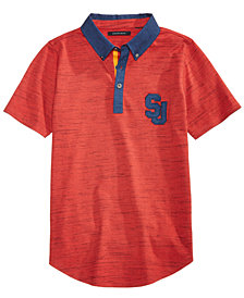 Sean John Big Boys Variegated Polo Shirt