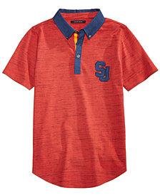 Sean John Big Boys Variegated Polo Shirt