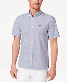 Brooks Brothers Men's Seersucker Slim Fit Shirt